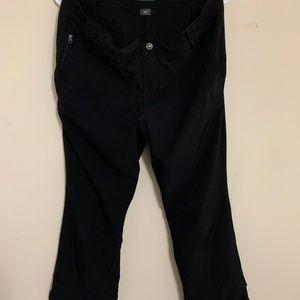 Eddie Bauer Black Fleece Ski Pants